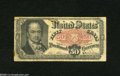 Fractional Currency:Fifth Issue, Fr. 1381 50c Fifth Issue Very Good-Fine. A very well circulatedCrawford note with some tape at the edges and some writing o...