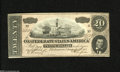 Confederate Notes:1864 Issues, T67 $20 1864. This VI Series $20 has been nicely preserved with a dark blue back. Choice Crisp Uncirculated....