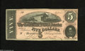 Confederate Notes:1864 Issues, T69 $5 1864. This Series 2 Crisp Uncirculated $5 has avoided pinholes while retaining nice color....