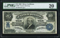 Large Size:Silver Certificates, Fr. 303 $10 1908 Silver Certificate PMG Very Fine 20.. ...