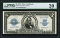 Large Size:Silver Certificates, Fr. 282 $5 1923 Silver Certificate PMG Very Fine 20.. ...