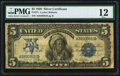 Large Size:Silver Certificates, Fr. 271 $5 1899 Silver Certificate PMG Fine 12.. ...