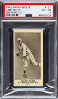 Baseball Cards:Singles (Pre-1930), 1916 Indianapolis Brewing Co. Babe Ruth #151 Rookie PSA VG-EX 4.....
