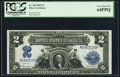 Large Size:Silver Certificates, Fr. 256 $2 1899 Silver Certificate PCGS Very Choice New 64PPQ.. ...