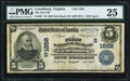 National Bank Notes:Virginia, Lynchburg, VA - $5 1902 Date Back Fr. 591 The First NB Ch. #(S)1558. ...