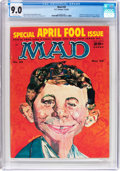 Magazines:Mad, MAD #39 (EC, 1958) CGC VF/NM 9.0 Off-white to white pages....