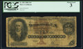 Large Size:Silver Certificates, Fr. 289 $10 1880 Silver Certificate PCGS About Good 3.. ...