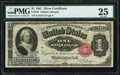 Large Size:Silver Certificates, Fr. 223 $1 1891 Silver Certificate PMG Very Fine 25.. ...