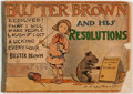 Platinum Age (1897-1937):Miscellaneous, Buster Brown And His Resolutions (1903) (Frederick A. Stokes Co.,1903) Condition: GD....