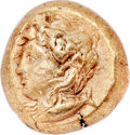 Ancients:Greek, Ancients: MYSIA. Cyzicus. Ca. 5th-4th centuries BC. EL stater (20mm, 16.02 gm). NGC XF 5/5 - 3/5....