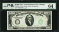Small Size, Fr. 2221-G $5,000 1934 Federal Reserve Note. PMG ChoiceUncirculated 64.. ...