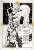 Original Comic Art:Splash Pages, Gil Kane The Ring of the Nibelung #1 Splash Page 8 OriginalArt (DC, 1989)....