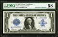 Large Size:Silver Certificates, Fr. 237* $1 1923 Silver Certificate PMG Choice About Unc 58 EPQ.....