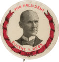Political:Pinback Buttons (1896-present), Eugene V. Debs: Picture Pin With Wreath....