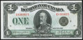 Canadian Currency, DC-25o $1 1923. ...