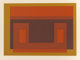 Josef Albers (American, 1888-1976) I-S Va 2, from Six Variants, 1969 Screenprint in colors on paper 21-1/2 x 30 inch