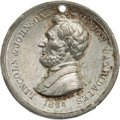 Political:Tokens & Medals, Abraham Lincoln: Campaign Medal by Key....