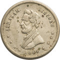 Political:Tokens & Medals, Abraham Lincoln: 1864 Campaign Medal in Nickel....