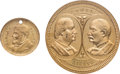 Political:Tokens & Medals, James G. Blaine and William Jennings Bryan: High Grade Brass Tokens.... (Total: 2 Items)
