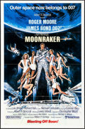 "Movie Posters:James Bond, Moonraker (United Artists, 1979). One Sheet (27"" X 41"") Teaser Style, Dan Gouzee Artwork. James Bond.. ..."