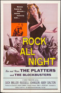 """Movie Posters:Rock and Roll, Rock All Night (American International, 1957). One Sheet (27"""" X 41""""). Rock and Roll.. ..."""