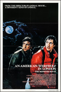 """An American Werewolf in London & Other Lot (Universal, 1981). One Sheets (2) (27"""" X 41""""). Horror. ... (Tot..."""