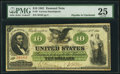Large Size, Fr. 9 $10 1861 Demand Note PMG Very Fine 25.. ...