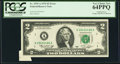 Error Notes:Foldovers, Fr. 1935-A $2 1976 Federal Reserve Note. PCGS Very Choice New64PPQ.. ...