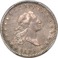 Early Half Dollars, 1795/1795 50C 2 Leaves, O-112, T-20, R.4, XF45 PCGS Secure. CAC....