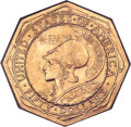 Commemorative Gold, 1915-S $50 Panama-Pacific 50 Dollar Octagonal -- Improperly Cleaned-- NGC Details. Unc....
