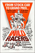 "Movie Posters:Sports, Wild Racers (American International, 1968). One Sheet (27"" X 41""). Sports.. ..."