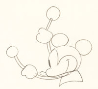 Steamboat Willie Mickey Mouse Animation Drawing Group of 2 (Walt Disney, 1928).... (Total: 2 Original Art)