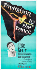 """Movie Posters:Musical, Invitation to the Dance (MGM, 1956). Three Sheet (41"""" X 78.5""""). Musical.. ..."""