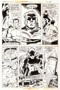 Herb Trimpe and Pablo Marcos Super-Villain Team-Up #7 Story Page 11 Original Art Comic Art