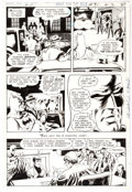Original Comic Art:Panel Pages, Nick Cardy The Brave and the Bold #91 Page 18 Original Art(DC, 1970)....