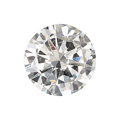 Estate Jewelry:Unmounted Diamonds, Unmounted Diamond The round brilliant-cut diam...