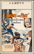 "Movie Posters:Adventure, Hearts and Fists (Associated Exhibitors, 1926). Window Card (14"" X 22""). Adventure.. ..."