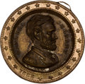 Political:Tokens & Medals, Ulysses S. Grant: Dual-Portrait Brass Shell Locket....