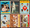 Baseball Cards:Lots, 1957-68 Topps Mickey Mantle Collection (6)....