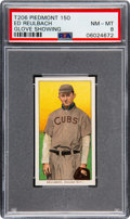 Baseball Cards:Singles (Pre-1930), 1909-11 T206 Piedmont 150 Ed Reulbach (Glove Showing) PSA NM-MT 8 - Pop Two, None Higher! ...