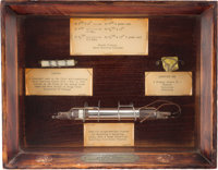 University of Chicago: Relic Display of First Successful Nuclear Fission Experiment
