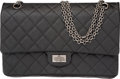 """Luxury Accessories:Bags, Chanel Black Quilted Lambskin Reissue 226 Flap Bag with Ruthenium Hardware. Condition 3. 11"""" Width x 7"""" Height x 3.75""""..."""