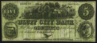 Caledonia, IL-Bluff City Bank Spurious $5 18__ Remainder S5