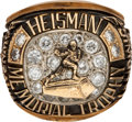 Football Collectibles:Others, 1950 Heisman Trophy Winner's Ring Presented to Vic Janowicz....