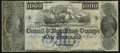 Obsoletes By State:Louisiana, New Orleans, LA- New Orleans Canal & Banking Compy. $1000 18__ Remainder G76a. ...