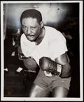 Boxing Collectibles:Memorabilia, 1956 Ezzard Charles II Type I Photograph. ...