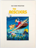 Animation Art:Poster, The Rescuers Press Kit and Point of Sale Poster (WaltDisney, 1977).... (Total: 2 Items)