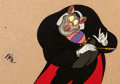Animation Art:Production Cel, The Great Mouse Detective Ratigan Production Cel (WaltDisney, 1986).... (Total: 2 Items)
