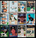 Baseball Cards:Lots, 1966-1990 Baseball Stars & HoFers Collection (69)....