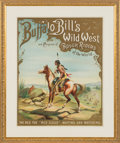 "Antiques:Posters & Prints, The ""Red Fox,"" Red Cloud: An Iconic Nine-Color Lithographed Poster Issued in 1893-94. ..."